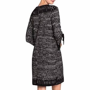 NIC+ZOE Ruffle Sleeve Sweater Sheath Dress NWOT